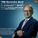 PM Narendra Modi at mid-term is good enough for re-election in 2019 -Swaminathan S Anklesaria Aiyar https://t.co/kebdnfScpE