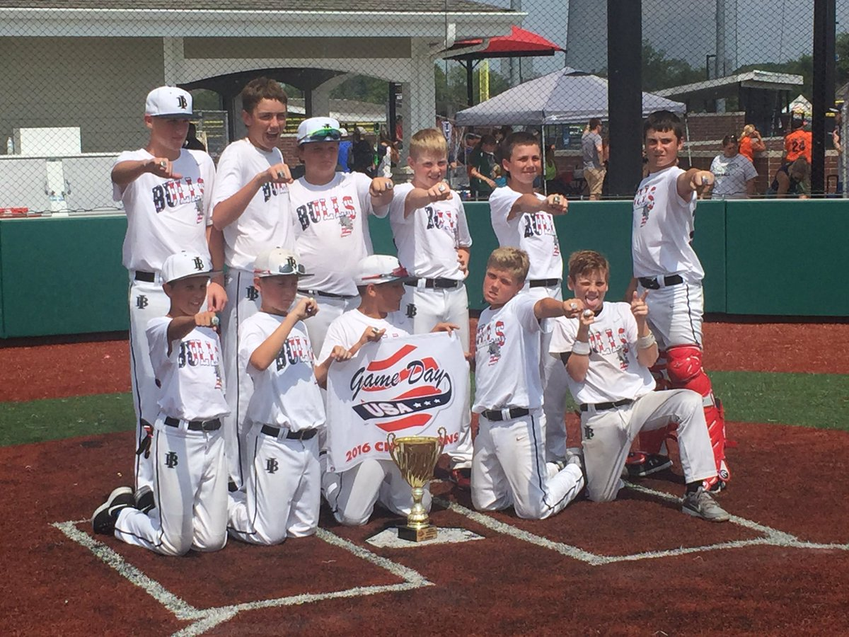 @inbullsbase 12U white Gameday National Championship champions! https://t.co/b5DFLo6844