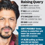 Shah Rukh Khan gets notice from I-T department Is Dubai Island mansion one of them? https://t.co/1SrjgMxdYD https://t.co/gmyOat2Giz