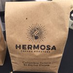 Simple brown bag but a mighty coffee. Hermosa Coffee by Nick and Dana #Tucson On Instagram: @hermosacoffeeroasters https://t.co/VLMRQJGDC9