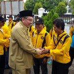 Gubernur Bengkulu melepas peserta Porwanas Bengkulu ke Bandung di Kantor PWI Prov. Bengkulu. @RadioElshinta https://t.co/3EDzSPcQXs