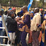 """#DA leader Mmusi Maimane in Pretoria kicking off his campaigning by """"committing to Madibas vision"""" CM https://t.co/y79n7Q6e4j"""