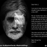 Dear @SrBachchan your silence is taking away young lives in #Kashmir. See Full Campaign https://t.co/WN4dL3YqBI https://t.co/eW9ZpiyJB4