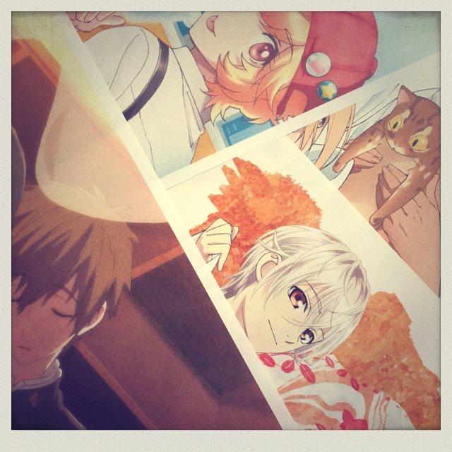 7月30日発売のspoon.2Di vol.16掲載の描き下ろしイラストの一部を公開☆「スカーレッド…
