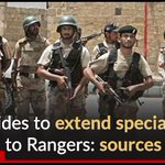 PPP decides to extend special powers to Rangers: sources Read more: https://t.co/OEJUzVvkA7 https://t.co/Ap3aiDS1k4