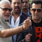 """Narendra Modi teaching skills of """"Being Acquitted"""" to Sultan Of Bollywood. https://t.co/w6hgQ06Iau"""