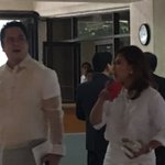 Quezon city mayor Herbert Bautista and PCOO chief Martin Andanar arrives for the SONA | via @bevnatividad https://t.co/MV0oEHAins