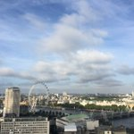 Hello sunshine from the roof of @ITV A lovely view from 22 floors up across #London @GMB https://t.co/kf7hYBq93T