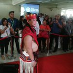 Ifugao Rep. Teddy Baguilat wears the traditional Ifugao ethnic costume for #DuterteSONA. #SONAlive https://t.co/msjvRYjkrX