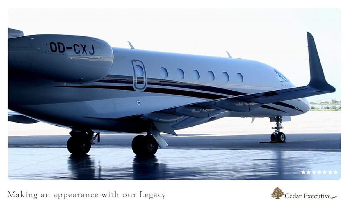When you want to fly private, fly with Cedar Executive.