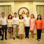 LOOK: VP Leni Robredo swears in Boyet Dy as her Chief of Staff | Photo: Office of the Vice President https://t.co/aY5rUkHWel