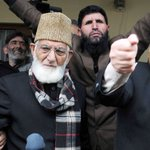 #BREAKING Separatist leader Syed Ali Shah Geelani arrested for defying house arrest https://t.co/RVUAOU3nrD