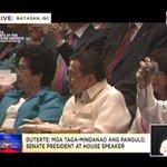LOOK: Three former presidents present at Pres. Dutertes SONA. #Du30SONA2016 https://t.co/1amrTcgrmb