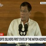 #PresidentDuterte delivers State of the Nation Address. Watch it LIVE: https://t.co/CaczwF9CtH #SONA2016 https://t.co/ySSm4pClEj