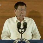 Pres. Duterte delivers his first SONA. (Screencap from RTVM) #SONA2016 #Du30SONA https://t.co/v9X6wWjFUu