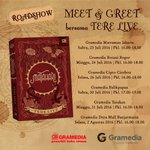RT @Gramedia: Besok (26/7) di Cirebon yg berkesempatan Meet & Greet brsm Tere Liye di @Gramedia_Cipto jam 4 sore! https://t.co/xKc6Hk6Rw5