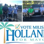 We had a successful #campaign outing this weekend. Thank you to the #volunteers! #Holland4Mayor #PalmCoast https://t.co/ohdYFqVTJL
