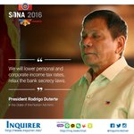 #PresidentDuterte vows to lower both personal & corporate income tax rates #SONADu30 https://t.co/5jqLWQbzhQ https://t.co/So6MugQds9