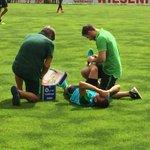 Trainingspause für Zlatko Junuzovic. Er ist bei der Vormittagseinheit von #Werder umgeknickt. #Zillertal https://t.co/9KYPsYPhd2