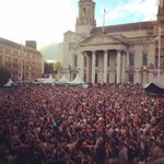 What an amazing turn out last night for #OceanColourScene & #shedseven @millsqleeds #Leeds #SummerSeries https://t.co/mtBsY7tEHx