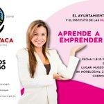 Te invitamos al  taller ¡Aprende a Emprender Mujer! Los días 1, 8, 15 y 22 de agosto en el #MuCiC  ¡No faltes! https://t.co/zmoJI7DRy2