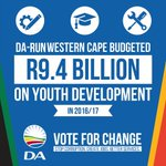 #ImVotingDA cause where @Our_DA currently Govern they allocate money for Youth Development https://t.co/HJfEyBHepJ