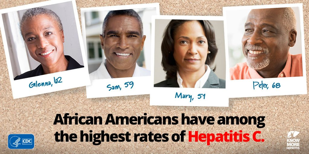 TODAY is African American #HepatitisC Action Day! Learn abt impact of #hepC https://t.co/g7gxoATbr1 #NAAHCAD https://t.co/f0FZhPYAV8
