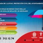 En esta temporada de lluvias, toma precauciones. #Cuernavaca https://t.co/KUSxSVjyK2
