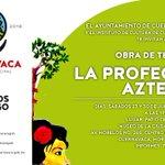 """Te invitamos a la Obra de Teatro """"La Profecía Azteca"""" el 30 de julio a las 19:00 hrs.  #MuCiC https://t.co/Pf4ixYf0ol"""