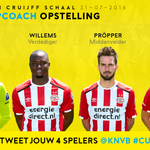 @realtimo7 #CupCoach is aan! ⚽👍 RT je opstelling en daag je vrienden uit! https://t.co/G8DCcXmjIr