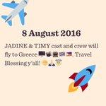 Till I Met You flies go Greece #PushAwardsJaDines #JADINE https://t.co/YPPmFh9F0a