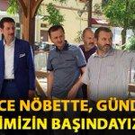 """Samsun İlkadım Belediye Başkanı @erdogantok55; """"Gece Nöbette, Gündüz İşimizin Başındayız"""" https://t.co/koQBUIdeih https://t.co/UzSGRRNjDo"""