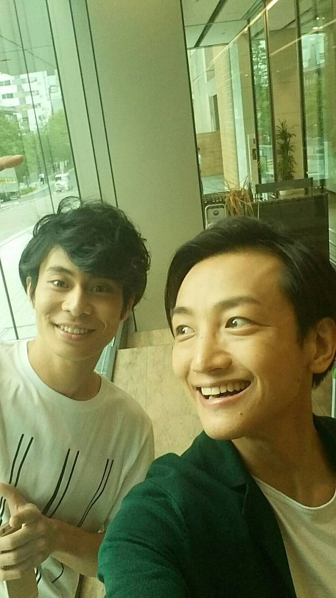 今日の取材は 兄さんと。  永山さんとこの、たかしくん。 いっぱい話せて楽しかったなぁ。