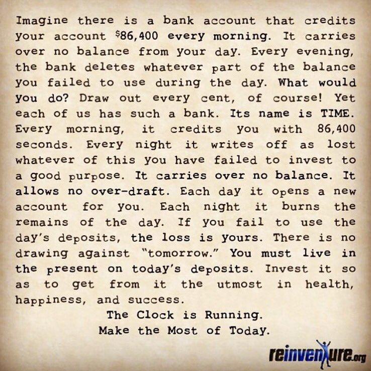 Make today count... #liveyourlegend https://t.co/pBiOtSK7lE