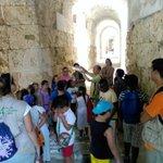 Recreamos la vida en Roma con la visita de las Escuelas de Verano a las ruinas de ITÁLICA. #PolígonoSur #Sevilla https://t.co/Erl3Ocsiz1