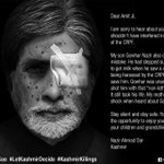 #Kashmir If Amitabh had to face the Shot guns of Indian army in Kashmir, this is how his ugly would look like... https://t.co/usBG9P9nNz