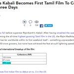 Official Tag: #KabaliFastest200crIn3Days - #Kabali #Rajinikanth #Superstar #Thalaivar RT Max https://t.co/IIo7TGPLtB