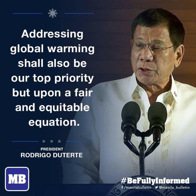 President Duterte On Global Warming Du30sona Scoopnest