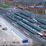 #Bauarbeiten am #Bremer #Hauptbahnhof: provisorische Instandsetzung der abgesackten Gleise. https://t.co/24C1PUsUJk https://t.co/wzw79pE4K2