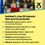 .@NicolaSturgeon sets out vital EU interests that must be protected. Read the speech: https://t.co/RKgMld4Tna #ScoEU https://t.co/3obvZYWe8u