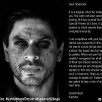 Amazing campaign, uses #Indian celebrities as #Kashmir victims. Click on these HTs #IndiaCantSee #KashmirKillings   https://t.co/BKGkLxhvgq