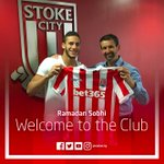 DONE DEAL: Stoke City have annoucned the signing of Ramadan Sobhi from Al Ahly SC. https://t.co/IdrQikoE8S