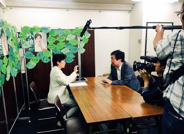 最終週に入り、マスコミの取材も目白押し。インタビューを通じて皆様に政策や考えをお伝えする大切な機会で…