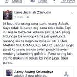 Ni urang2 ah kalau dtg Sabah mesti durang ingat durang dikelilingi babi 😂 Ah moron. https://t.co/2P03HFLNsQ