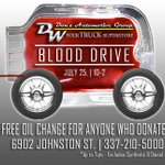 Dons Automotive Group is hosting a community blood drive at its service center.The blood drive starts at 10 a.m. https://t.co/wPgQAfmlHm