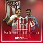 DEAL DONE: Stoke City have signed winger Ramadan Sobhi from Egyptian Champions Al Ahly. (Source: @stokecity) https://t.co/nw2Nz4QP2o