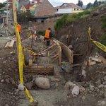 Avanzamos en la pavimentación del Camino Del Tejar. @CholaCabrera #ObrasCuenca @tomebamba @mercurioec @UNSIONTV https://t.co/A96y1eY6ui