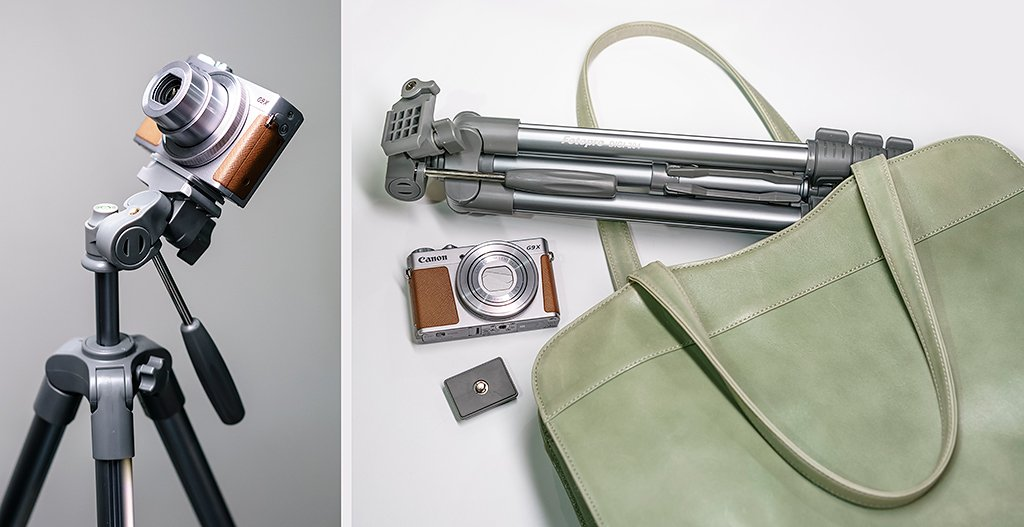 5万円以下で揃う星空撮影に適したカメラです。 キヤノンPowerShot G9X+三脚(Fotopr…
