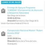 Conoce la #AgendadelDía del Gobernador @miguelmarquezm Hoy Programa CADENA y Campeonato Nacional Master Rubén Acosta https://t.co/2StgUJxXXz