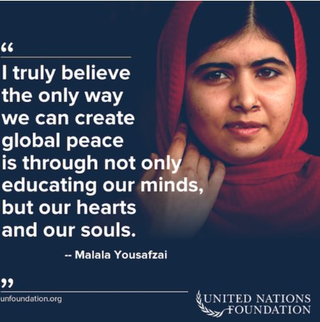 Inspiring words from an amazing individual #MondayMotivation https://t.co/jkcsuR24My